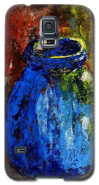 Old Blue Jar Galaxy S5 Case by Melvin Turner