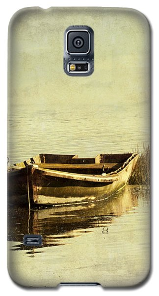 Old Boat With Textures Galaxy S5 Case