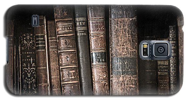 Old Books On The Shelf - 19th Century Library Galaxy S5 Case