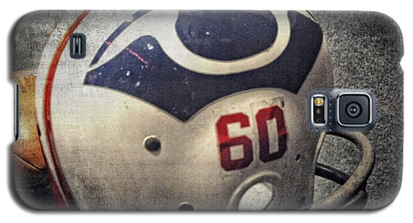 Old Boston Patriots Football Helmet Galaxy S5 Case