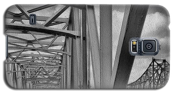 Galaxy S5 Case featuring the photograph Old Bridge New Bridge by Janette Boyd