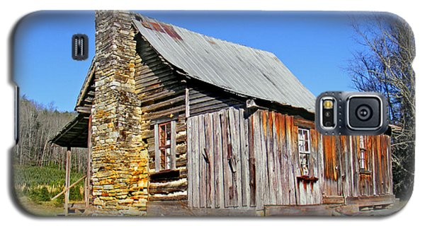 Old Cabin Along Macedonia Church Road Galaxy S5 Case