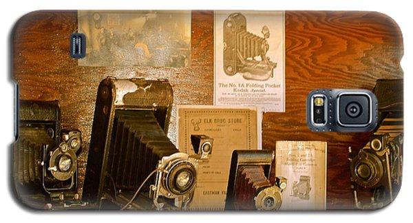 Old Cameras Galaxy S5 Case by Roseann Errigo