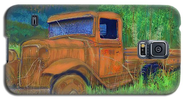 Old Canadian Truck Galaxy S5 Case