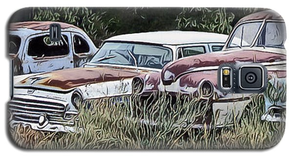 Old Car Graveyard Galaxy S5 Case