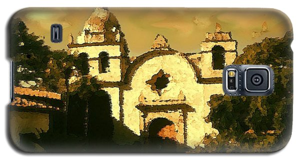 Old Carmel Mission - Watercolor Galaxy S5 Case