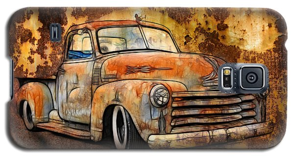 Old Chevy Rust Galaxy S5 Case