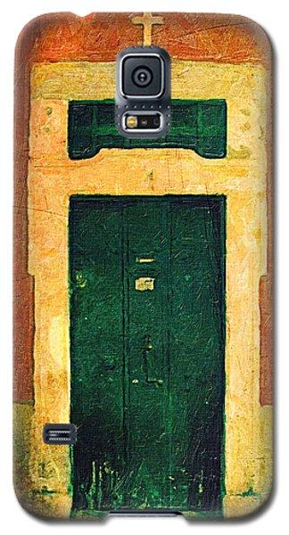 Old Church Doorway Galaxy S5 Case