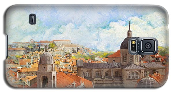 Castle Galaxy S5 Case - Old City Of Dubrovnik by Catf