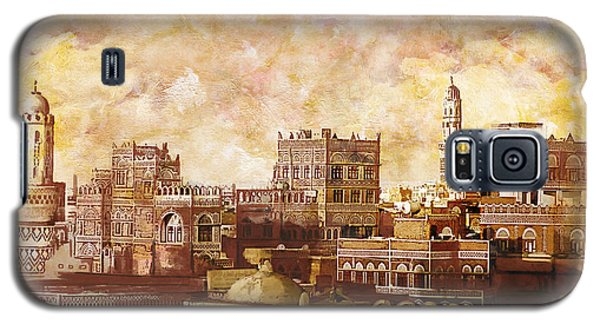 Castle Galaxy S5 Case - Old City Of Sanaa by Catf