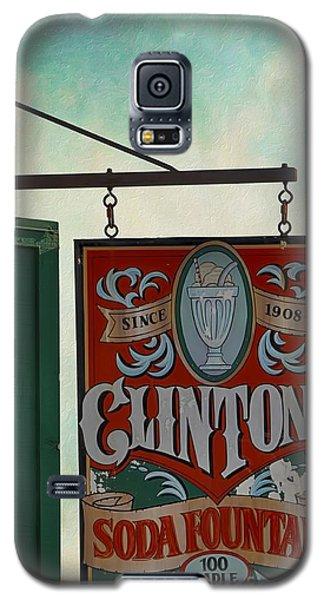 Old Clinton's Soda Fountain Sign Galaxy S5 Case