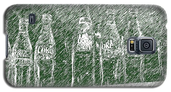 Galaxy S5 Case featuring the photograph Old Coke Bottles by Greg Reed