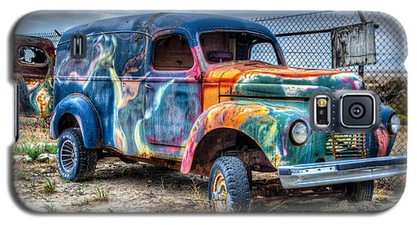 Old Colored Truck Galaxy S5 Case