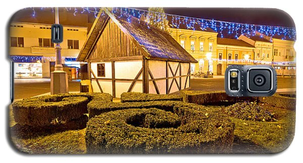 Old Cottage In Koprivnica Christmas View Galaxy S5 Case by Brch Photography