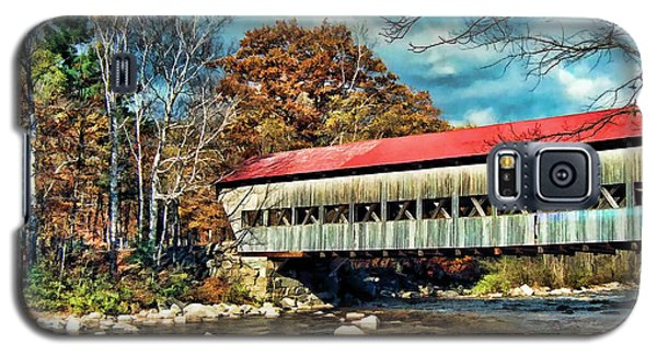 Old Covered Bridge Galaxy S5 Case by Kenny Francis