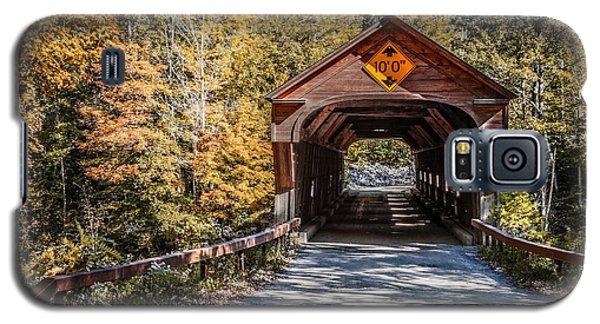 Old Covered Bridge Vermont Galaxy S5 Case
