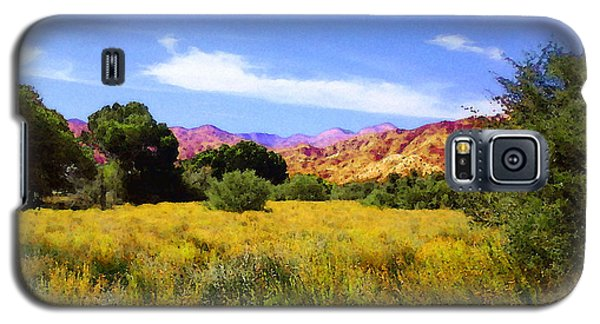 Galaxy S5 Case featuring the photograph Old Covington Ranch by Timothy Bulone