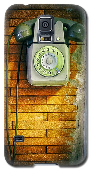 Galaxy S5 Case featuring the photograph Old Dial Phone by Fabrizio Troiani