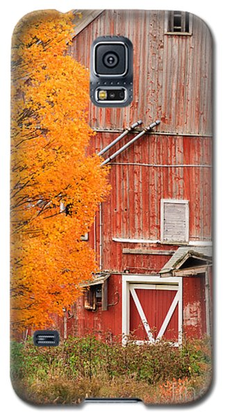 Old Dilapidated Country Barn During Autumn. Galaxy S5 Case