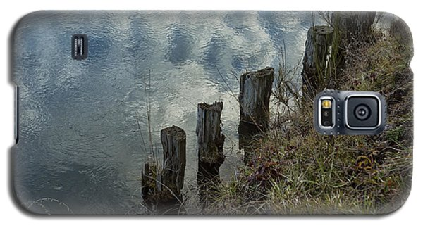 Old Dock Supports Along The Canal Bank - No 1 Galaxy S5 Case