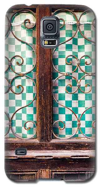 Galaxy S5 Case featuring the photograph Old Door by Silvia Ganora