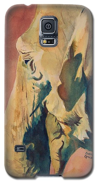 Galaxy S5 Case featuring the painting Old Elephant by Andrew Gillette