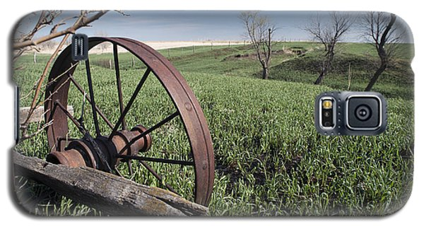 Old Farm Wagon Galaxy S5 Case