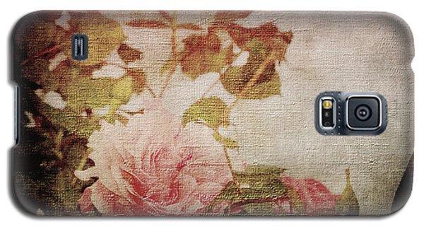 Old Fashion Rose Galaxy S5 Case