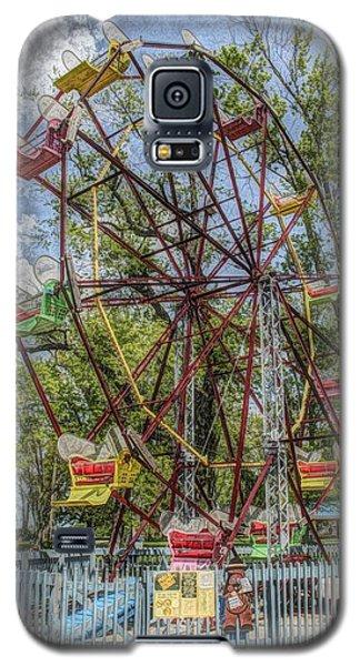 Old Fashioned Ferris Wheel Galaxy S5 Case
