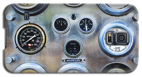 Old Fire Truck Gauge Panel Galaxy S5 Case