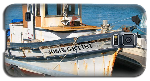 Old Fishing Boat In Sausalito Galaxy S5 Case by Connie Fox