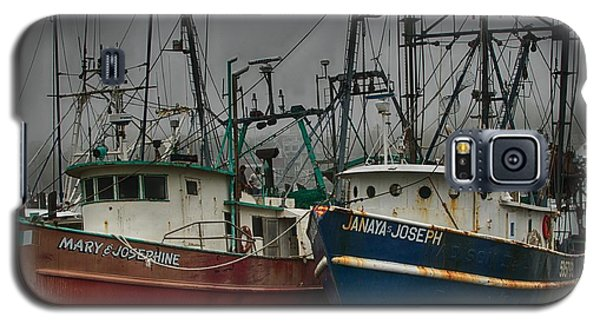 Old Fishing Boats Galaxy S5 Case