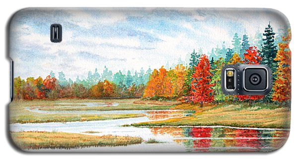 Old Forge Autumn Galaxy S5 Case by Roger Rockefeller