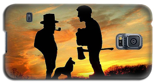 Old Friends Converge At Dusk Galaxy S5 Case