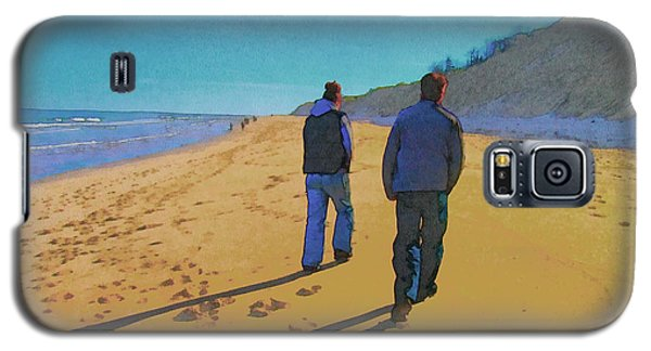 Old Friends Long Shadows Galaxy S5 Case
