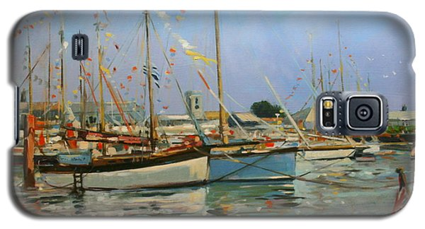 Bunting Galaxy S5 Case - Old Gaffers  Yarmouth  Isle Of Wight by Jennifer Wright
