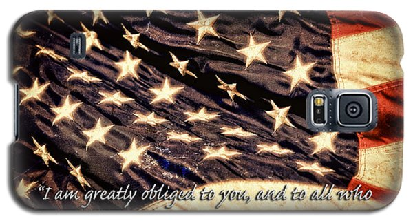 Old Glory Military Tribute Galaxy S5 Case by Lincoln Rogers
