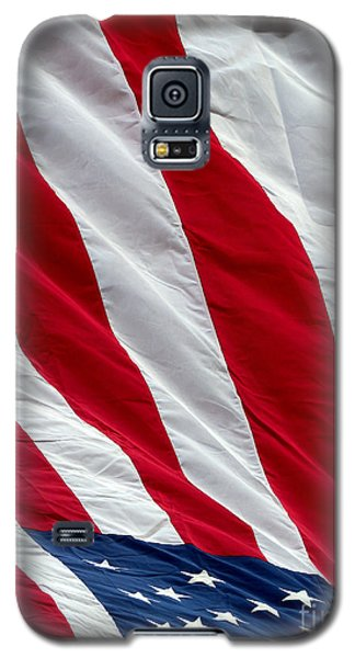 Galaxy S5 Case featuring the photograph Old Glory by Robert Riordan