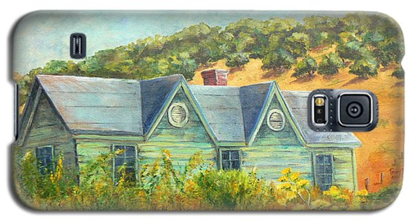 Old Green House On The Hill Galaxy S5 Case by Terry Taylor