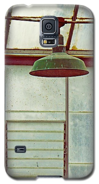 Old Green Lamp Galaxy S5 Case by Patricia Strand