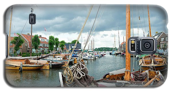 Old Harbor Galaxy S5 Case by Hans Engbers