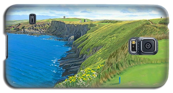 Old Head Golf Club Ireland Galaxy S5 Case by Tim Gilliland
