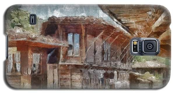 Galaxy S5 Case featuring the painting Old House by Georgi Dimitrov
