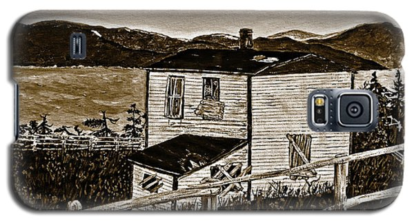 Old House In Sepia Galaxy S5 Case