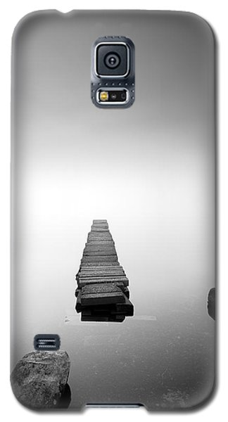 Old Jetty In The Mist Galaxy S5 Case