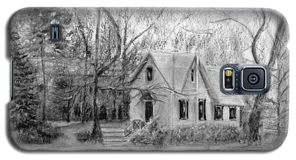 Old Library On Lake Afton - Winter Galaxy S5 Case