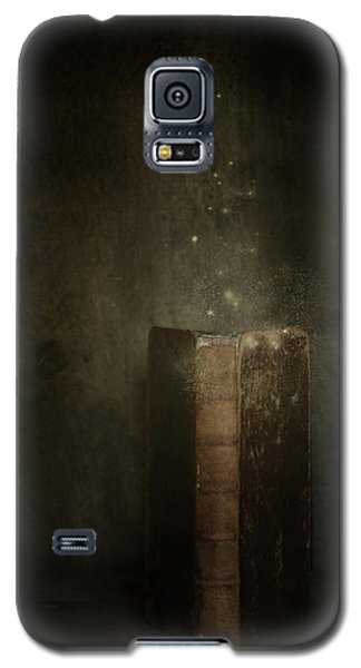 Galaxy S5 Case featuring the photograph Old Magic Book by Ethiriel  Photography