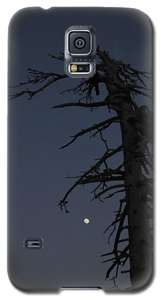 Old Man And Moon Galaxy S5 Case