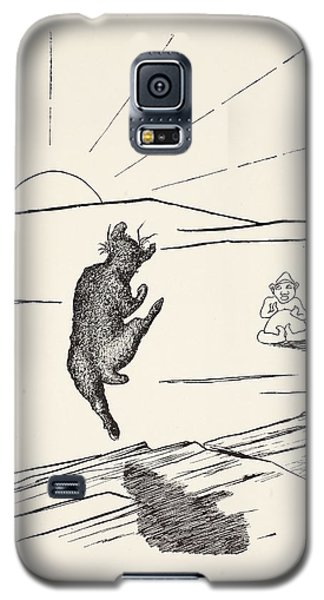Old Man Kangaroo Galaxy S5 Case by Rudyard Kipling