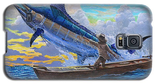 Old Man And The Sea Off00133 Galaxy S5 Case by Carey Chen